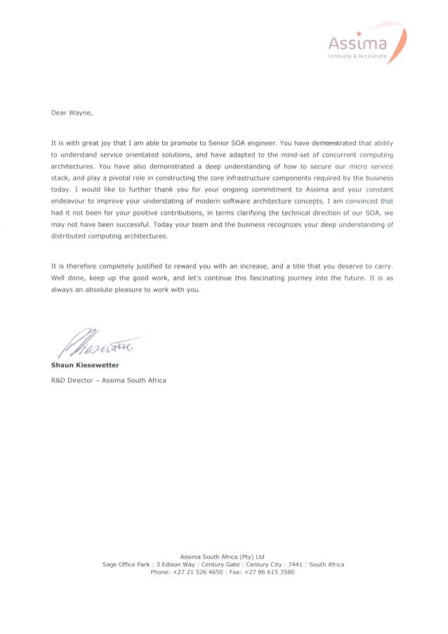 LetterOfPromotionAssima