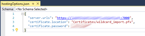 Setting up HTTPS in Asp net core 1 1 - Wayne Clifford Barker